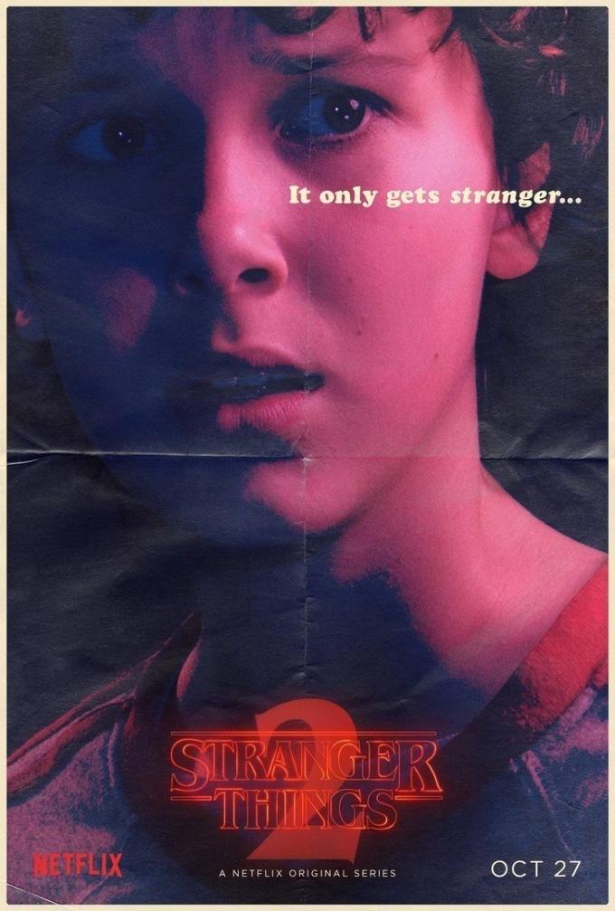 stranger-things-2 очень странные дела 2 Одиннадцать