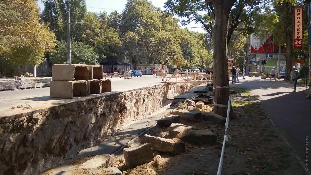 ремонт теплотрассы на Сегедской Одесса