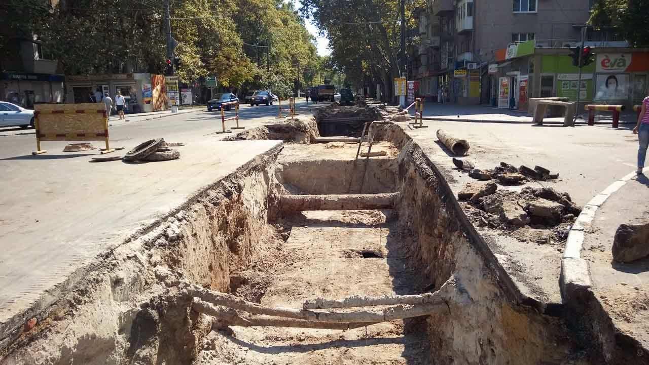 ремонт Сегедская теплотрасса Одесса