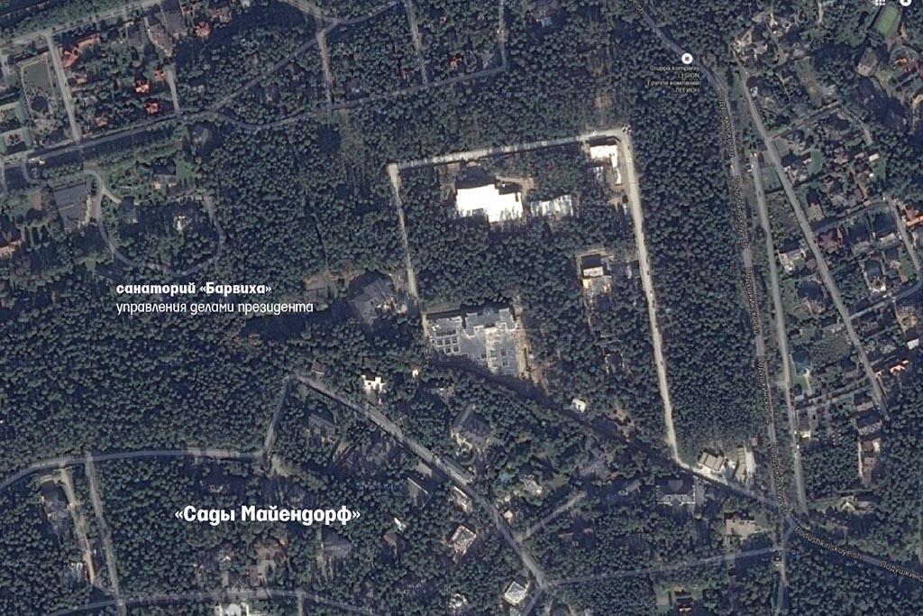 элитный поселок Барвиха дом сечина