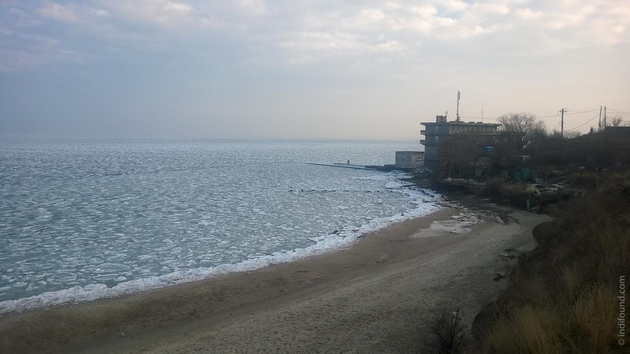ледяное море Одесса