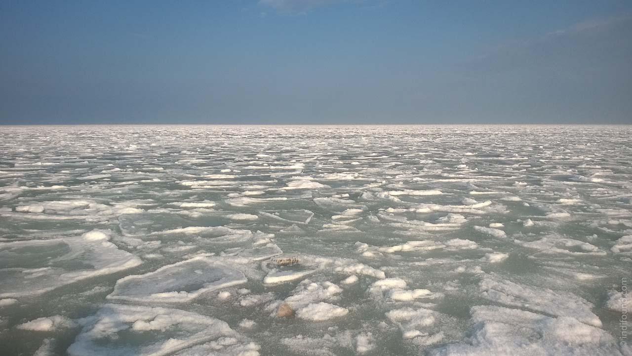 застывшее море Одесса
