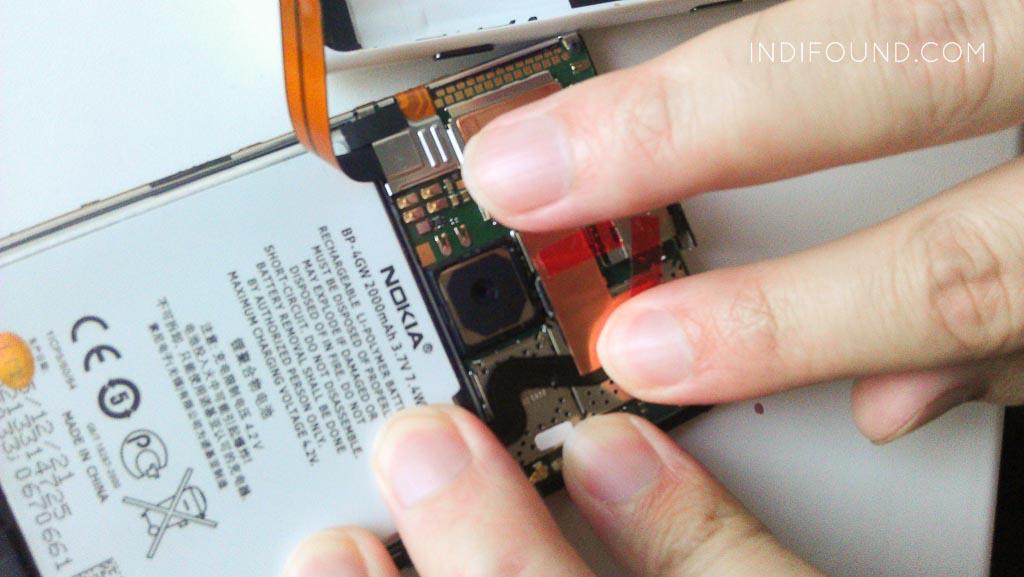 установка батареи люмия