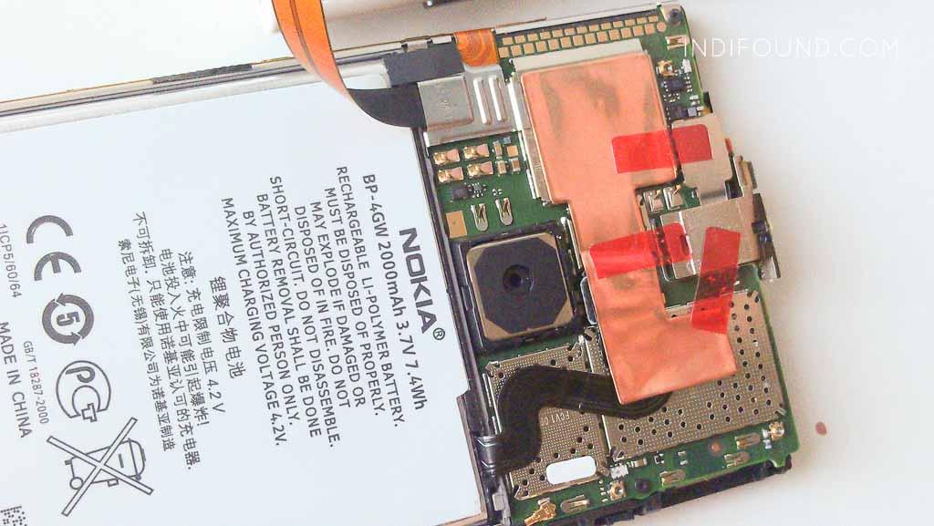 заменить аккумулятор lumia 920