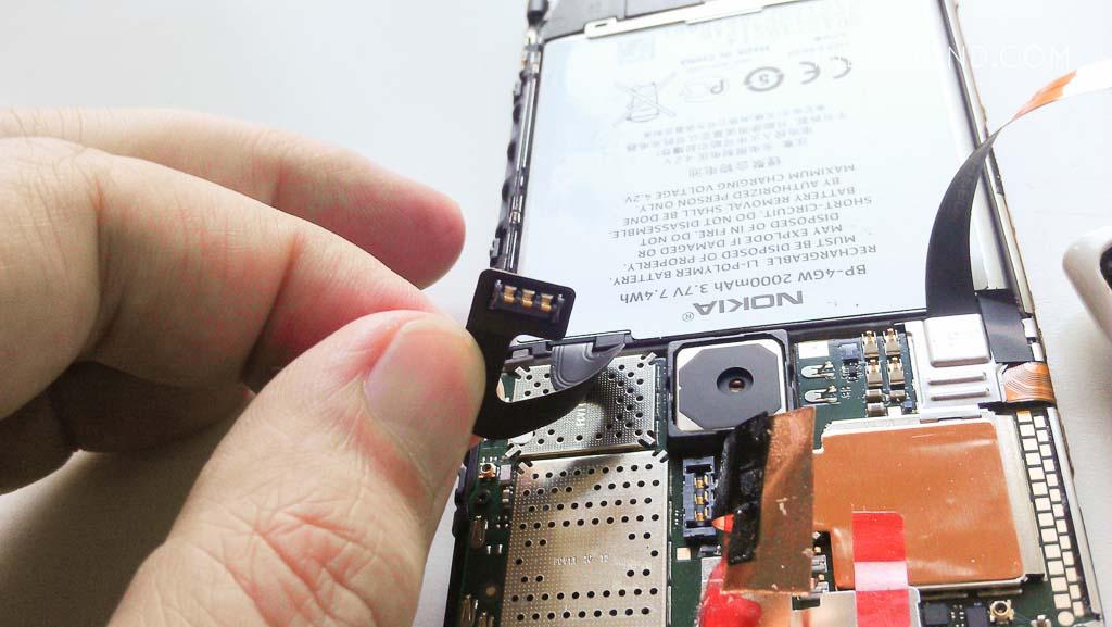 замена аккумулятора lumia