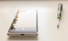 Замена аккумулятора Lumia 920