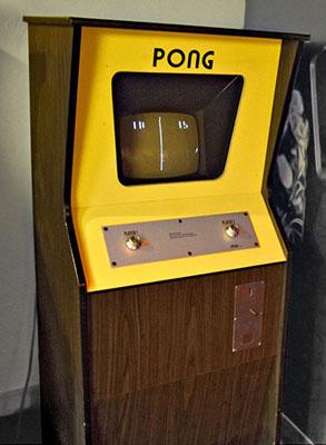игровой автомат аркада pong