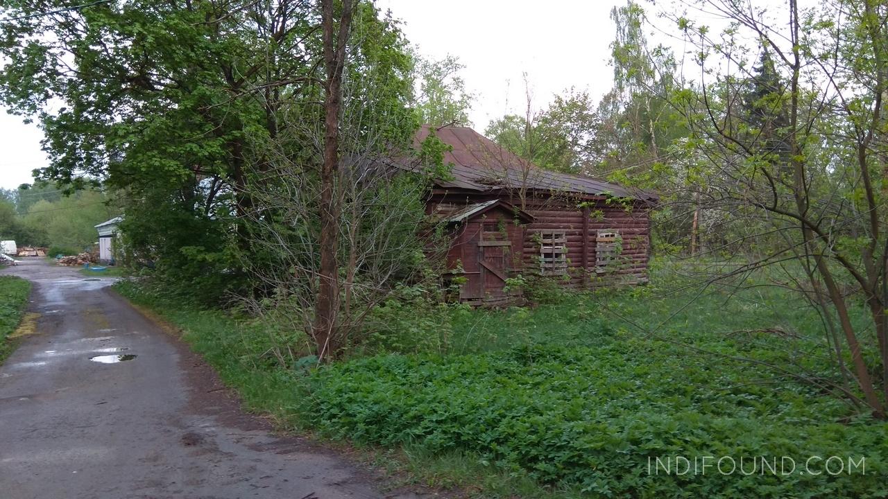 заброшенный дом на лосином острове